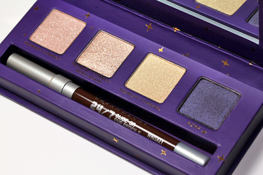 urban decay cowboy junkie set review swatches photos makeup and beauty blog palette 1