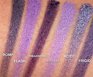 Urban Decay Purple Eyeshadows