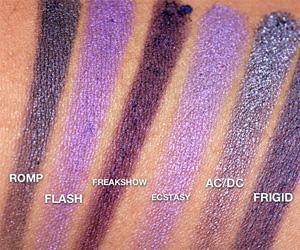 Urban Decay Purple Eyeshadows