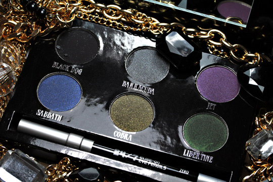 urban decay black palette review swatches photos