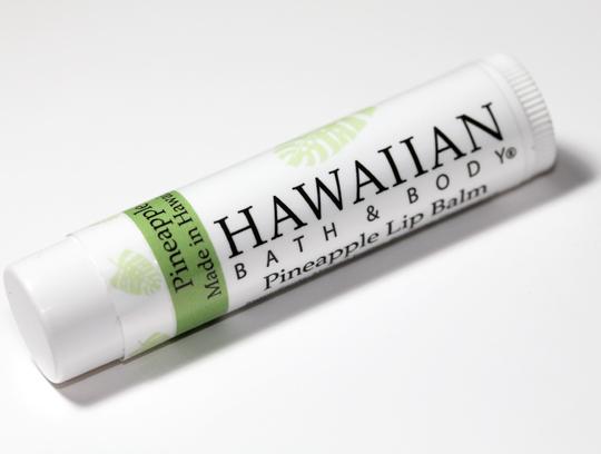 Hawaiian Bath and Body Review Pineapple Lip Balm