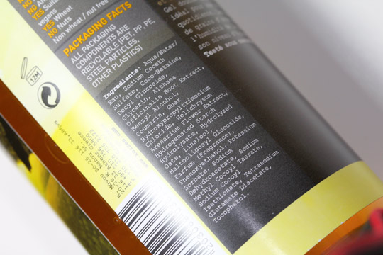 Korres Vanilla Guava Showergel ingredients