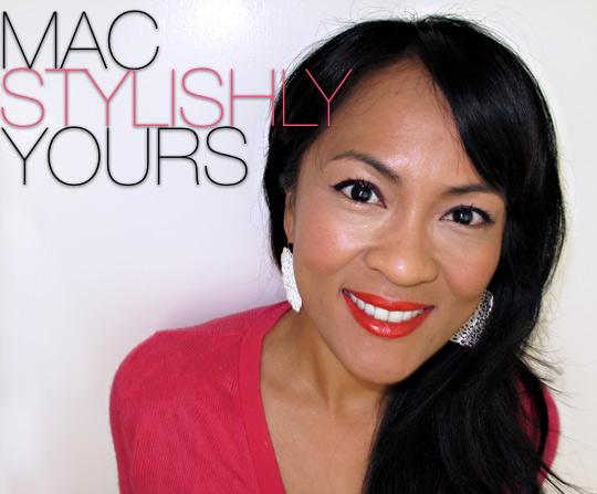 MAC Neon Orange on Karen of Makeup and Beauty Blog