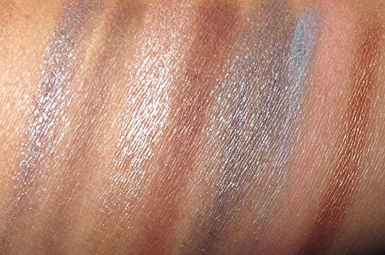 Nyx Soho Glam swatches eyeshadow 3