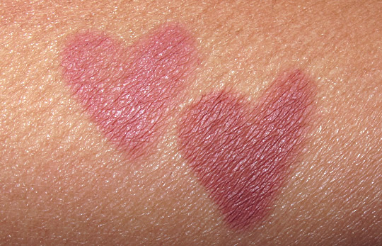 Urban Decay 247 Glide-On Lip Pencil review swatches photos illegal midnight cowboy on nc35 skin