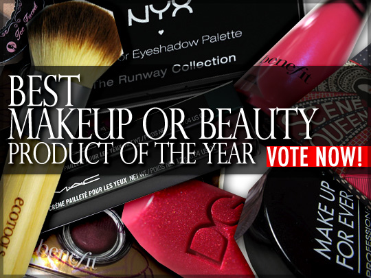 Cast your vote for the best overall makeup or beauty product of 2010