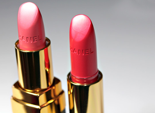 chanel flamboyante rouge allure rouge coco lipstick spring 2011