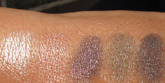 chanel ombres perlees de chanel swatches
