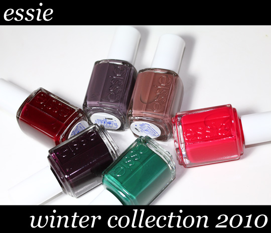 essie winter collection 2010 reviews swatches photos