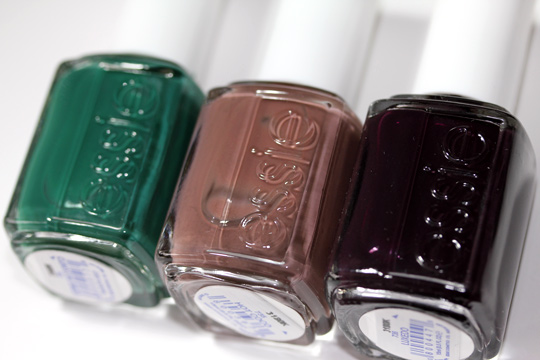 essie winter collection review swatches photos first three