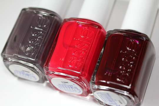 essie winter collection review swatches photos last three