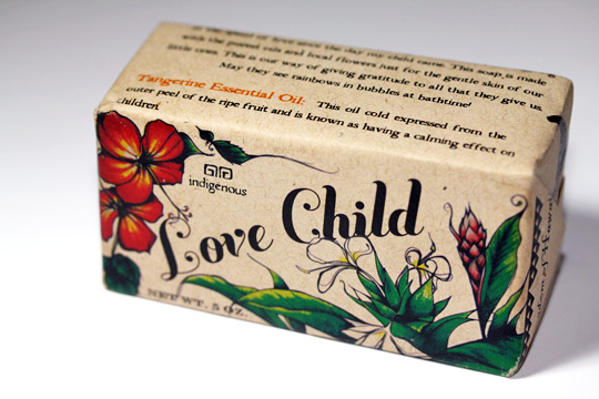 indigenous soap company love child review