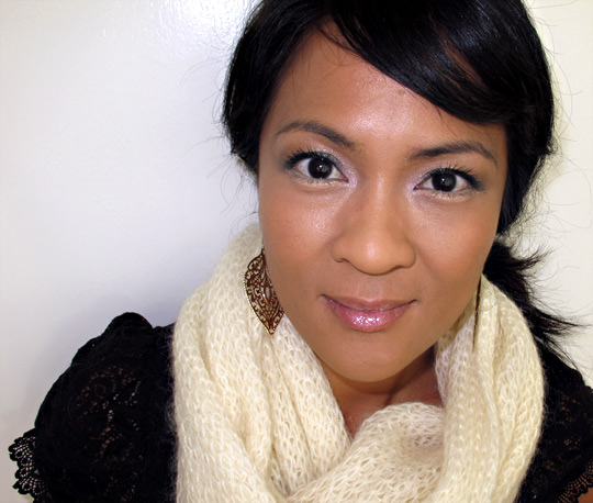 mac champale on karen of makeup and beauty blog 2