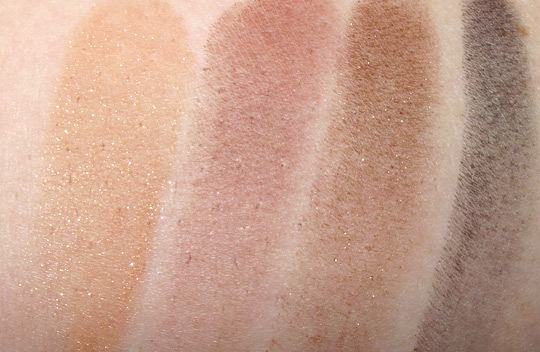 mac mickey contractor swatches on nw25 skin
