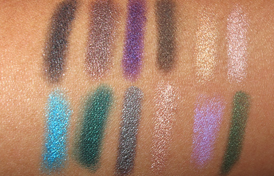 urban decay spring 2011 glide on shadow pencils swatches