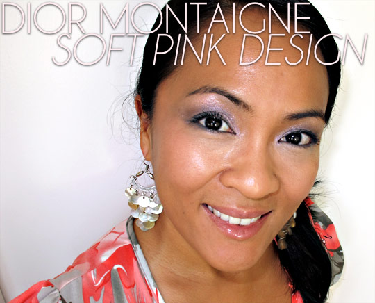 Dior Montaigne Soft Pink Design on Karen of Makeup and Beauty Blog