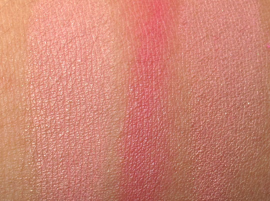 MAC Wonder Woman Swatches Mighty Aphrodite NC35