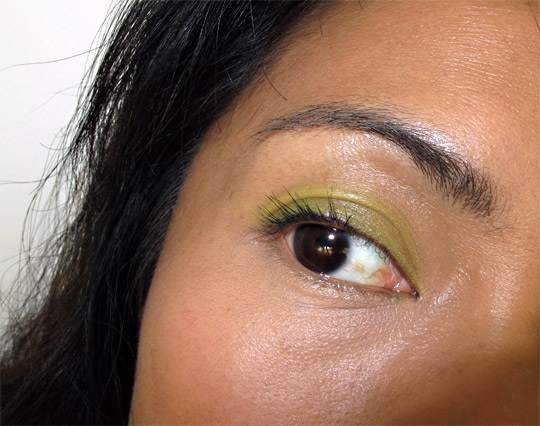 NARS spring 2011 Celebrate Soft Touch Shadow Pencil eye closeup