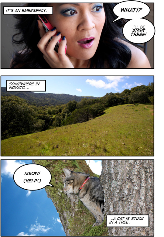 MAC Wonder Woman Comic: Page 3
