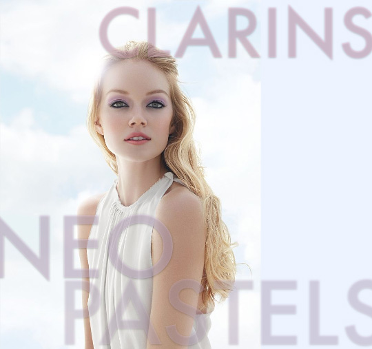 clarins neo pastels