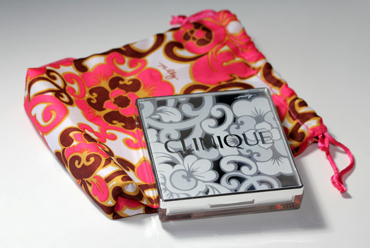 clinique milly pretty in prints palette with bag