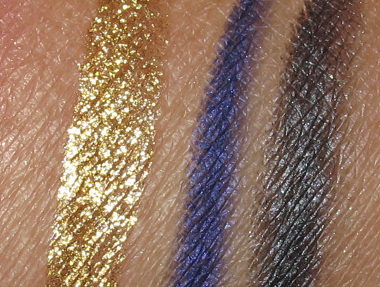 laura mercier silk road swatches liners with flash