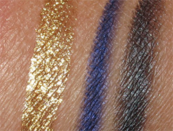 The Laura Mercier Silk Road Collection Swatches
