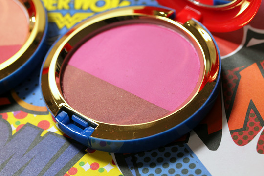 mac wonder woman Powder Blush Duo Amazon Princess