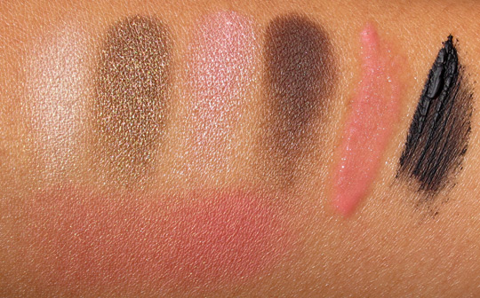 clinique pretty in prints swatches without flash