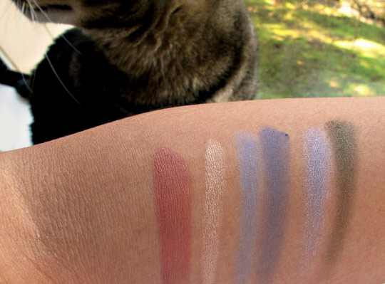 nars spring 2011 swatches without the flash