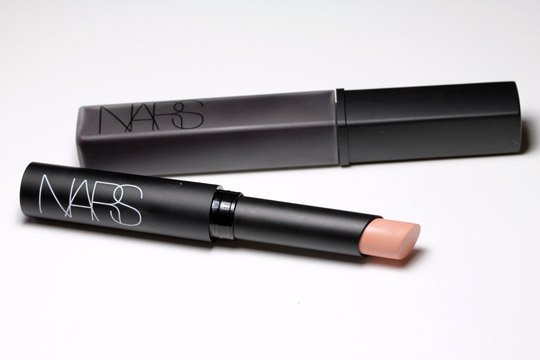 nars spring 2011 lip gloss in nana lipstick in madere