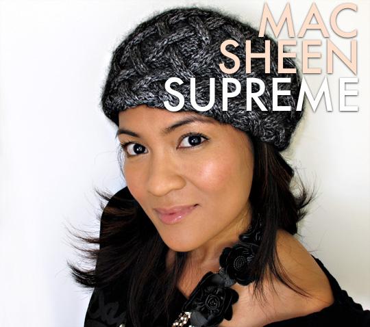 MAC Sheen Supreme Lipstick in Bare Again