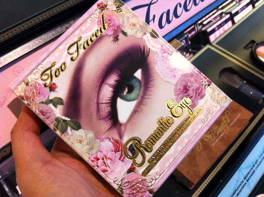 Too Faced Romantic Eye Classic Beauty Shadow Collection packaging