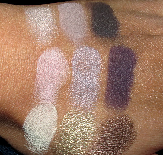 Too Faced Romantic Eye Classic Beauty Shadow Collection with flash