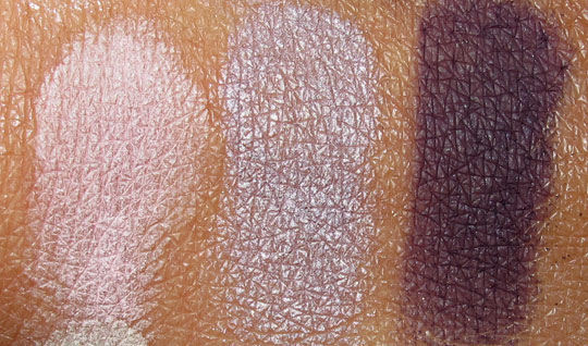 Too Faced Romantic Eye swatches second row