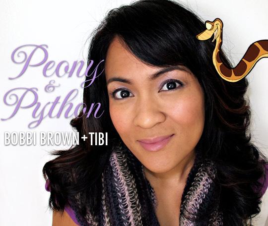 Bobbi Brown Peony & Python Lilac Rich Lip Color SPF 12