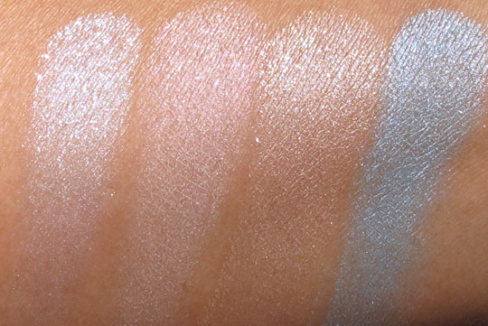 buxom stay there eye shadow swatches spring 2011 without the flash