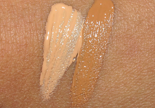dolce gabbana perfect finish concealer swatches