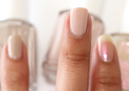 essie topeless and barefoot swatch