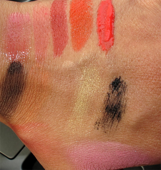 givenchy naivement couture swatches with flash