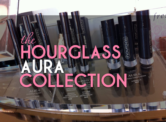hourglass aura collection