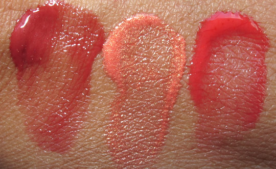 hourglass aura sheer cheek stain swatches