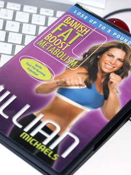 Jillian Michaels Banish Fat, Boost Metabolism Workout DVD