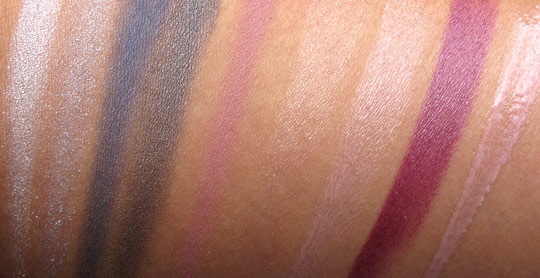 mac jeanius swatches all with flash
