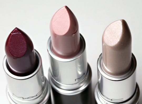 mac jenius lipsticks