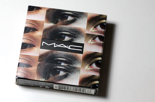 mac packed to go 6 cool smoky eye shadows box