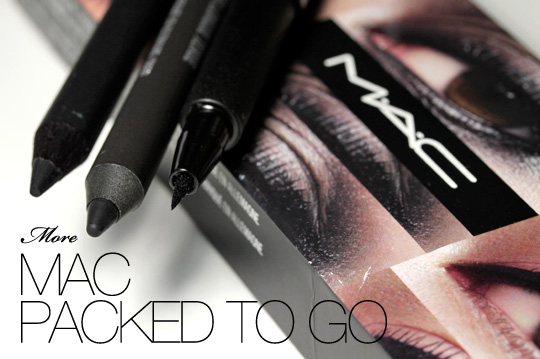 MAC Packed to Go Travel Exclusive Eye Liners