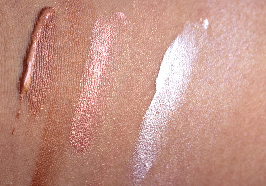 nars illuminator swatches super orgasm laguna copacabana without