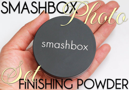 smashbox photo set finishing powder spf 15