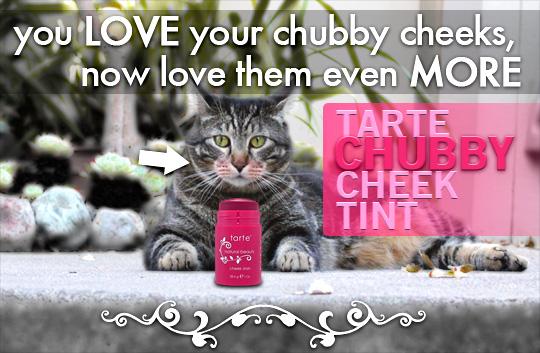Tabs for Tarte Chubby Cheek Tint